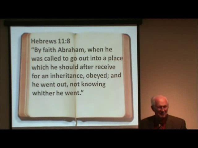Hebrews 11:8-12 Faith, Abraham and Sarah on Vimeo