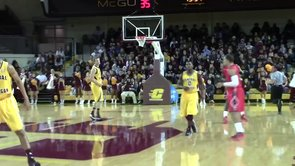 CMU 90, Cal State-Northridge 76: Men's basketball wins CMU Tournament behind strong shooting
