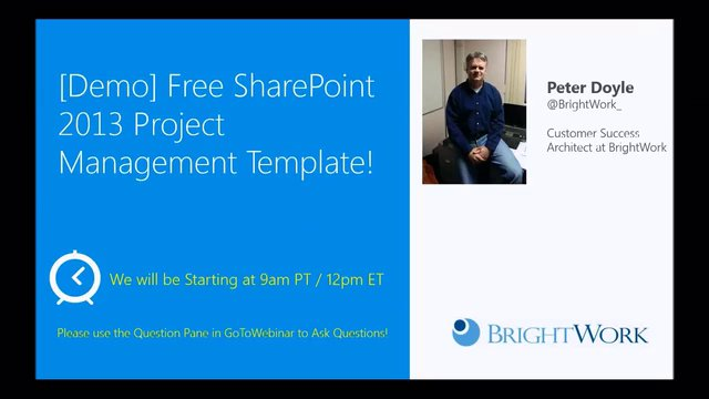 Demo Free Sharepoint 2013 Project Management Template On