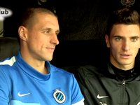 Dubbelinterview Timmy Simons & Thomas Meunier (25 november 2013)