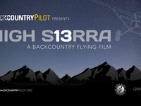 HIGH SIERRA - A backcountry flying film (teaser)