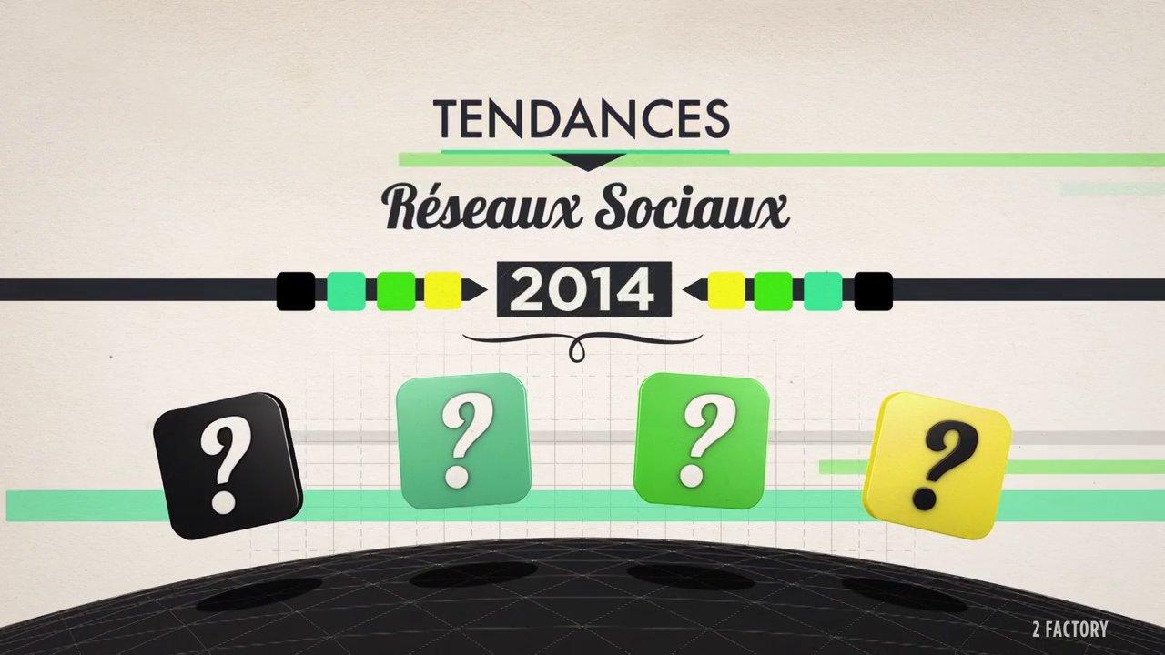 TENDANCES RESEAUX SOCIAUX 2014