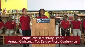 Longfellow E.S. Annual Toy Survey Press Conference