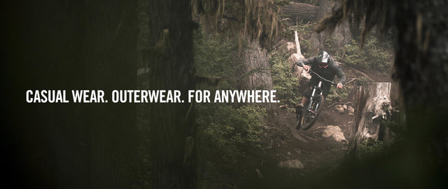 Casual wear. Outerwear. For anywhere.