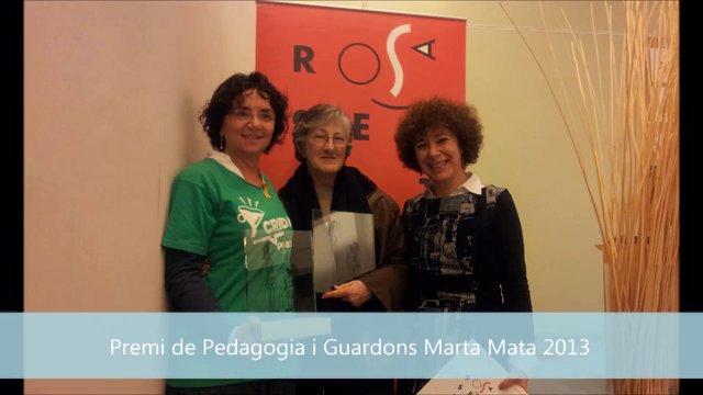 Acte de lliurament del Premi i Guardons Marta Mata 2013