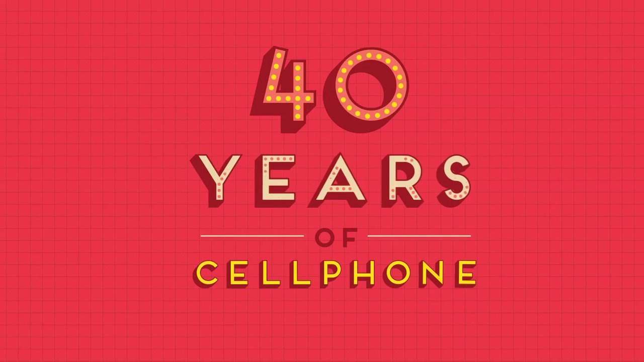 【手機編年史 40 Years of Cellphone】【Yao】