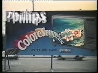 Philips Tv Color Colore Sempre Vivo Sogg. bar (1979)