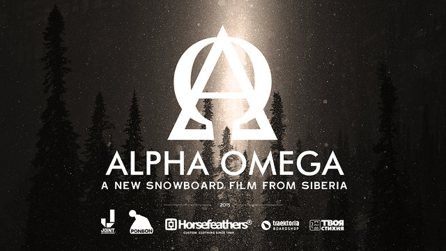 """Alpha Omega"". Snowboard movie from Siberia"
