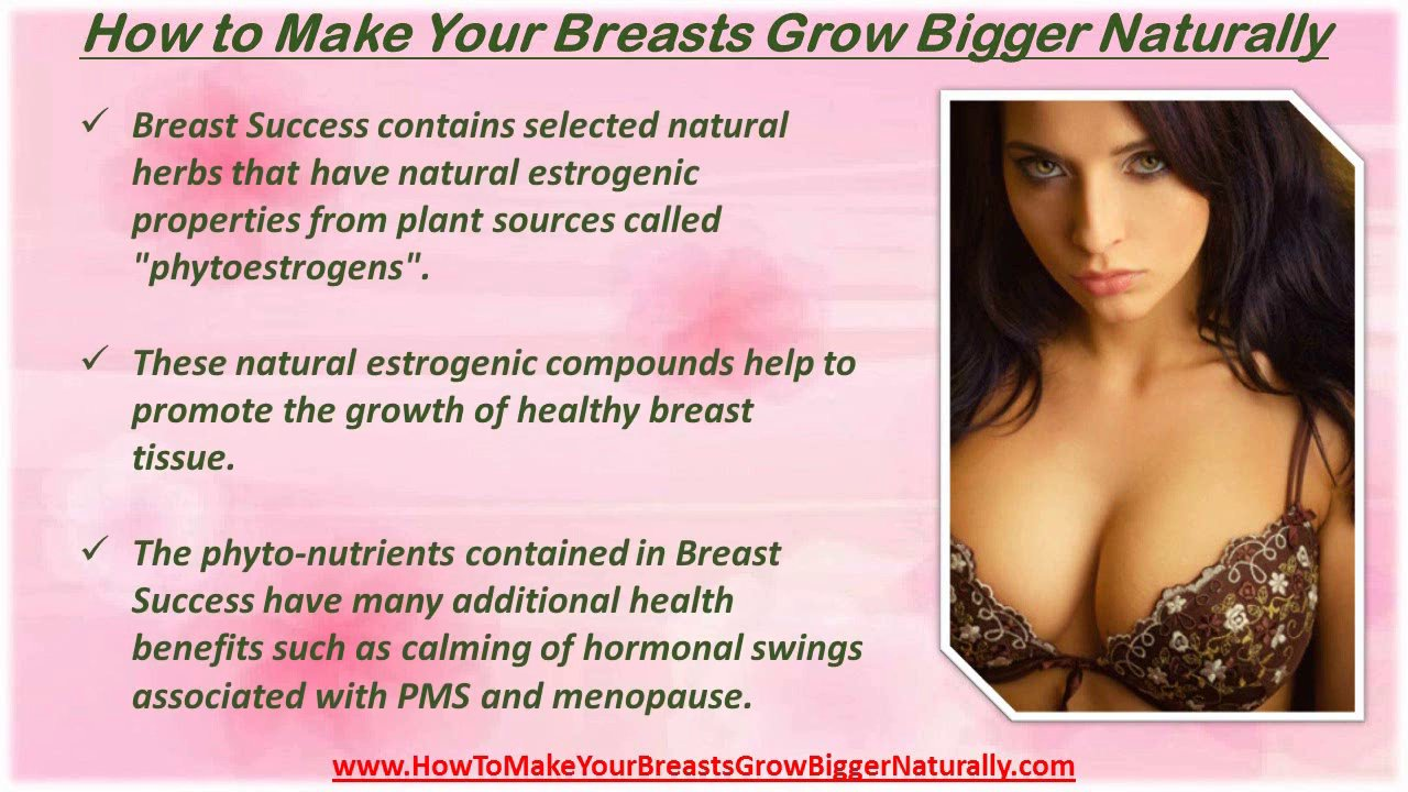 How To Increase Your Breast Size Naturally Fast At Home