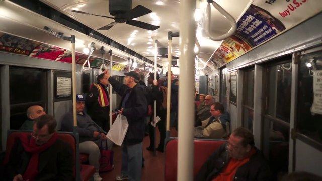 Streetfilms Shortie  -MTA Holiday Subway Rides