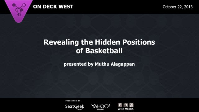 Revealing the Hidden Positions of Basketball on Vimeo