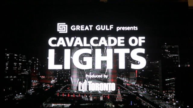 Toronto Cavalcade of Lights 2013, Presented by Great Gulf, Saturday, November 30, 2013, Nathan Phillips Square
