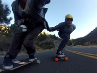 Root Longboards // Yannick goes California