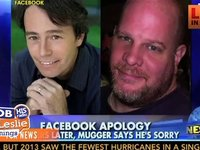 Mugger Says He Is Sorry