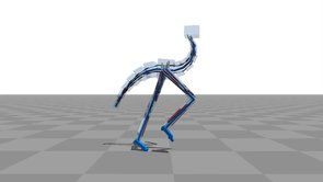 Flexible Muscle-Based Locomotion for Bipedal Creatures