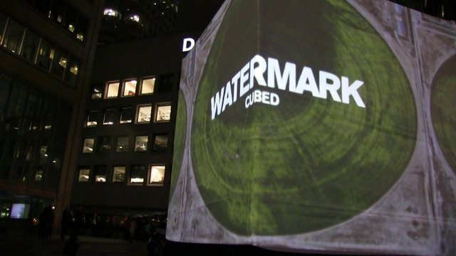 WATERMARK CUBED Nuit Blanche 2013 Toronto
