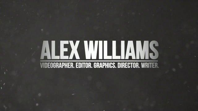 Alex Williams' Career Thus Far 2012