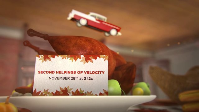 Velocity: Thanksgiving
