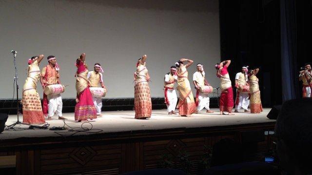 Bihu dance, Assam Province, Northeast India