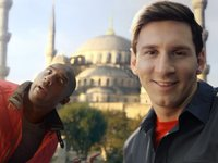 Kobe vs. Messi  The Selfie Shootout