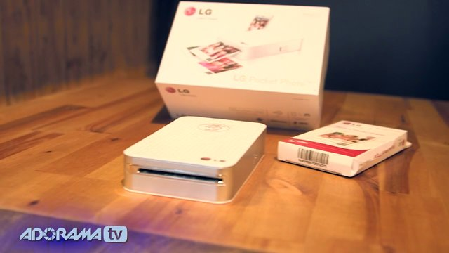 LG Pocket Photo Printer and Photo Paper: Product Overview: Adorama Photography TV