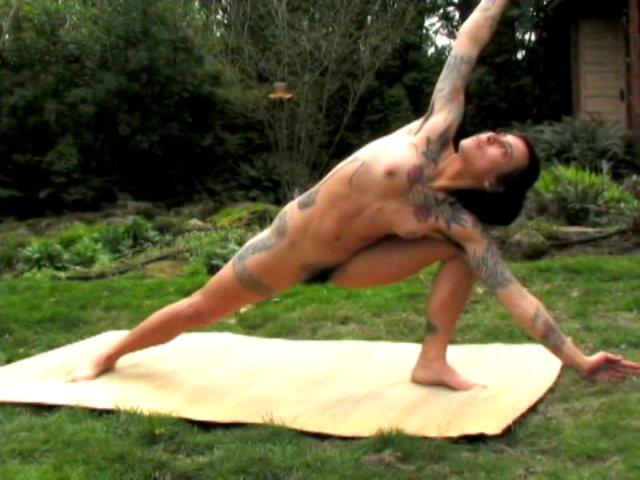 Naked Zen Yoga Always Natural And Hairy Full Bush Armpit