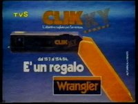 Wrangler Jeans Promozione Macchina Fotografica Clik Ky (1984)