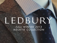 Fall Winter 2013 Necktie Collection