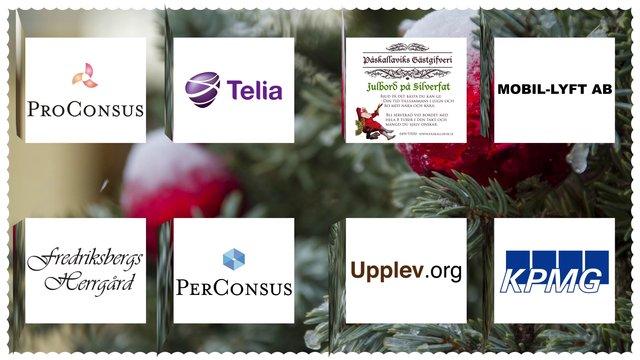 Julkalender - 8 logotyper