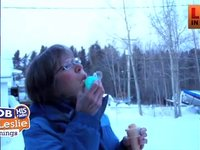 Blowing Bubbles in the Cold