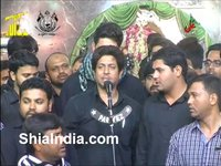 26th Muharram Anjuman-e-Al Abbas Matam at Qila 1435-2013-14
