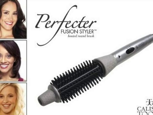 Calista Tools Perfecter Fusion Hair Styler Heated Round Brush Plus