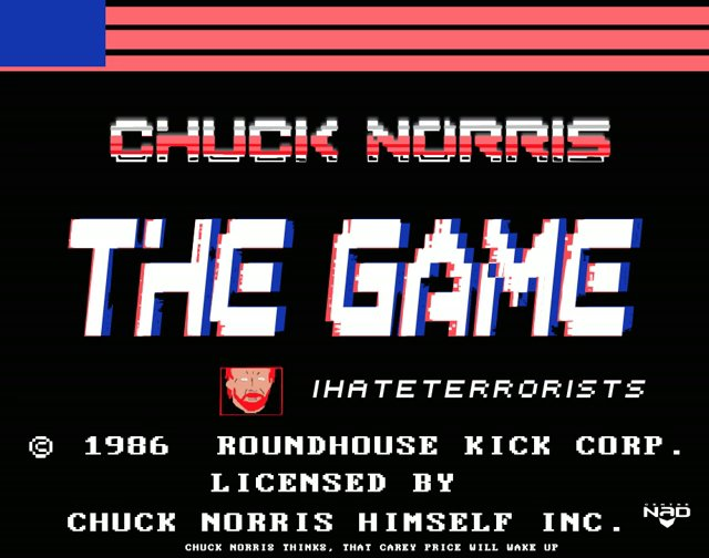 Chuck Norris The game