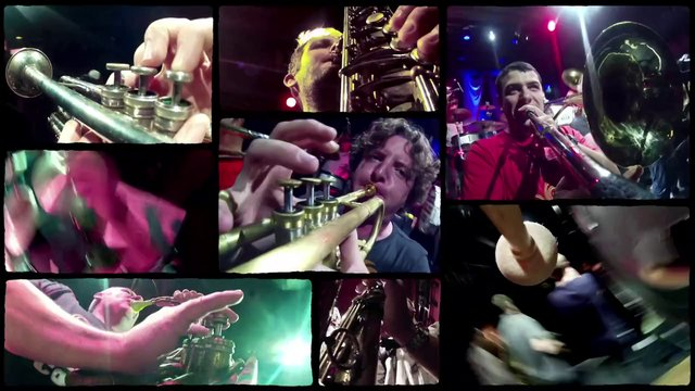 Hackney Colliery Band - Rolling In The Deep