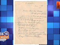 Letter to Santa in 1915