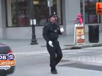The Traveling Dancing Cop