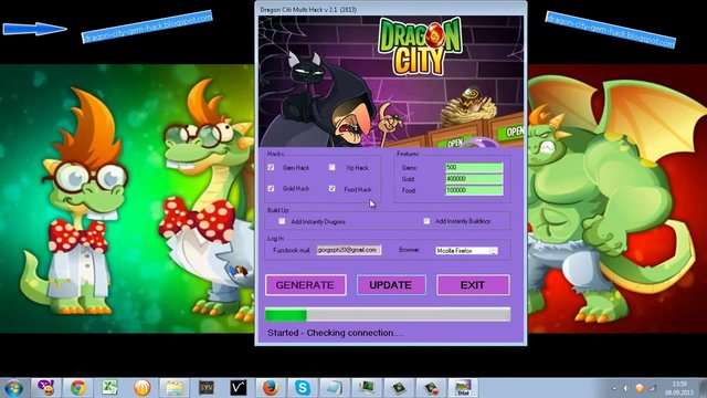 Dragon City Hack Tool v5.7 FREE DOWNLOAD December 2013 Created with