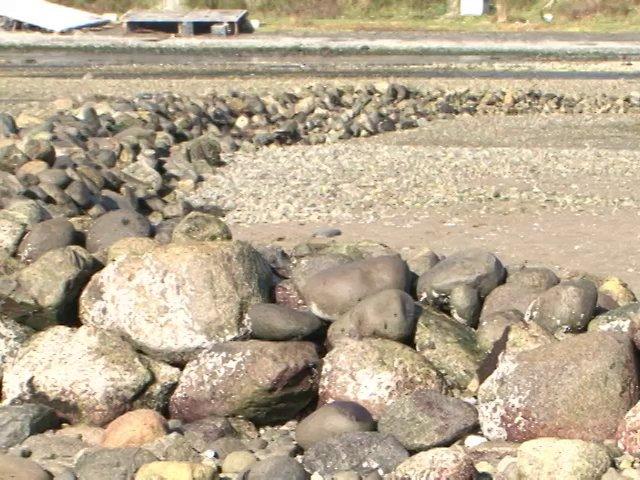 Las notables diferencias de marea que existen en el sur del país, en especial en la zona de Puerto Montt y Chiloé, permitieron practicar una forma de pesca de orilla muy especial que también se puede encontrar en otras partes del mundo como Centro América, África y Asia.