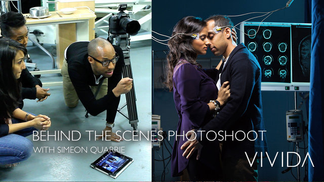 BEHIND THE SCENES PHOTOSHOOT - LOVE SICK - WITH SIMEON QUARRIE