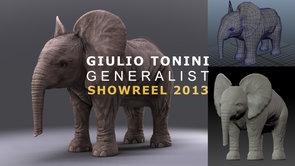 Showreel Giulio Tonini 2013 - Generalist