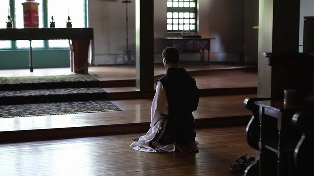 A day in the life of a monk at St. Joseph's Abbey