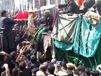 10th Muharram Bibi Ka Alam Procession 1435-2013-14