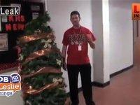 High School Christmas Tree Prank