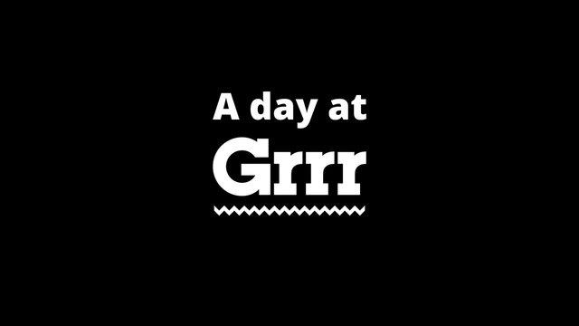 Bekijk de Grrr timelapse op Vimeo