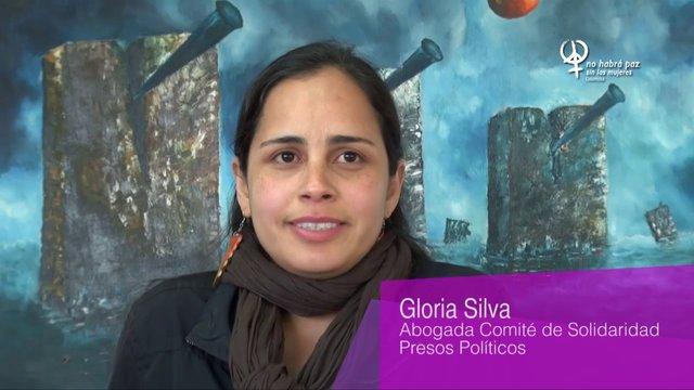 Gloria Silvia, abogada del Comité de Solidaridad con los presos políticos