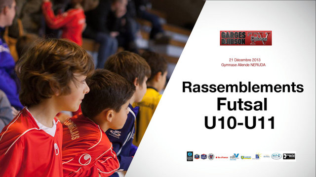 Rassemblement U10/U11 en collaboration avec le District du Val d'Oise
