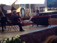 Violoncelle et percussions