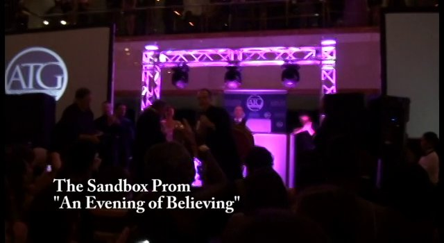 The Sandbox An Evening Of Believing Special Message From Cupid - Cupid Shuffle