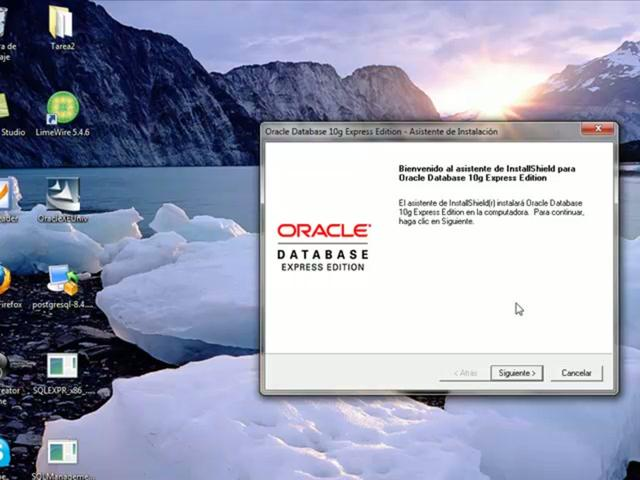 telecharger oracle 10g gratuit pour windows 7