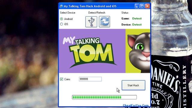 talkind tom